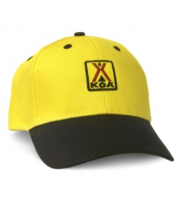 Yellow/Black Cap