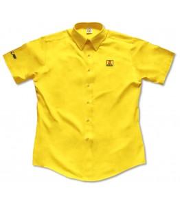 Ladies Short Sleeve Twill Dress Shirt