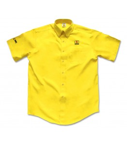 Men's Short Sleeve Twill Dress Shirt [NEW]