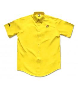 Men's Short Sleeve Twill Dress Shirt