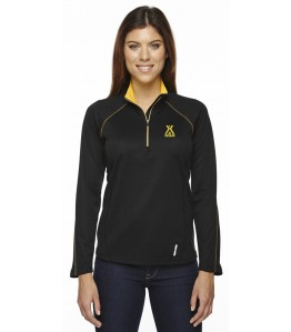 Ladies' 1/2 Zip Performance Long Sleeve