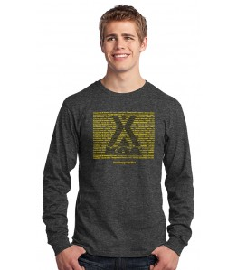 "Custom ""Repeat Your Name"" Long Sleeve T-Shirt"