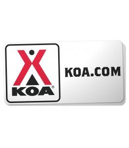 Golf Cart KOA Decal Set