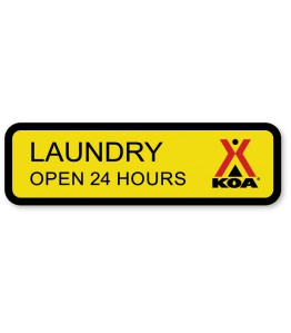LAUNDRY w/Engraved Hours