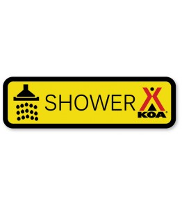 SHOWER w/Shower Symbol