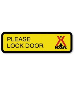 Please Lock Door