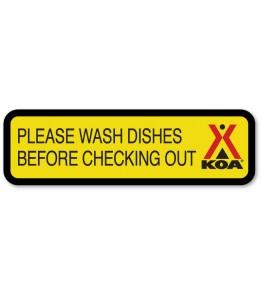 Please Wash Dishes