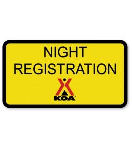 NIGHT REGISTRATION
